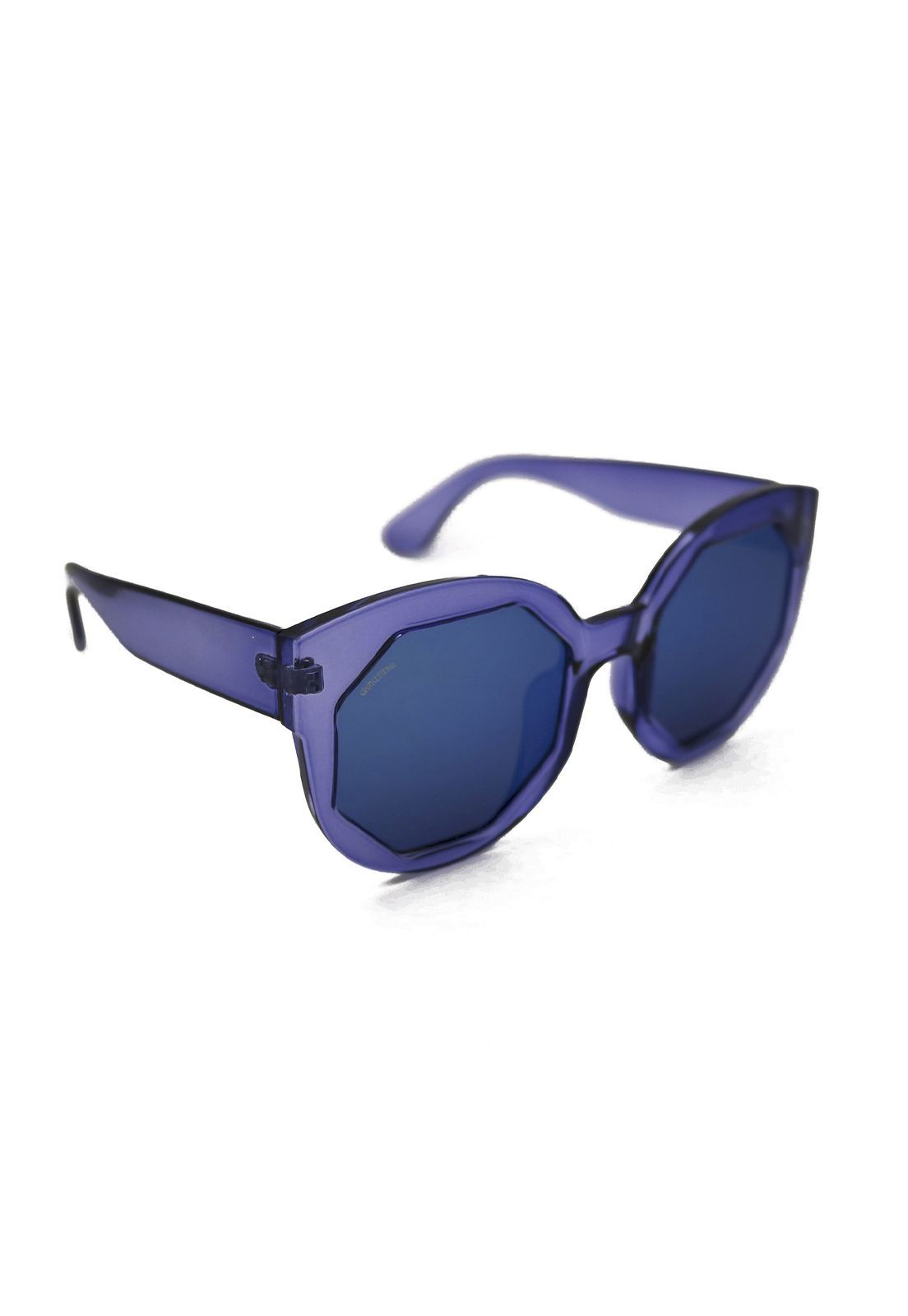 Óculos de Sol Grungetteria Octógono Azul