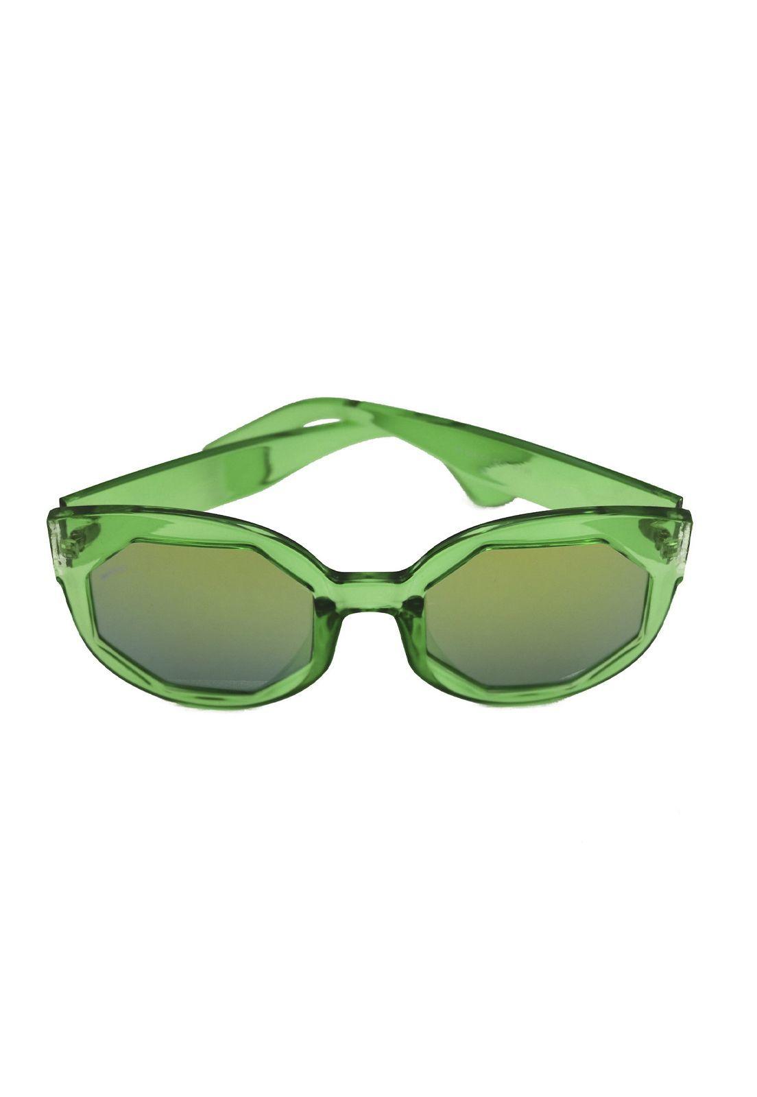 Óculos de Sol Grungetteria Octógono Verde