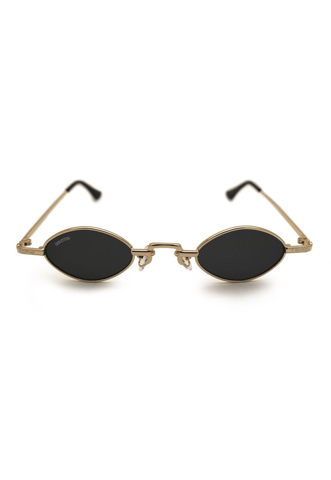 Óculos de Sol Grungetteria Osval Dourado