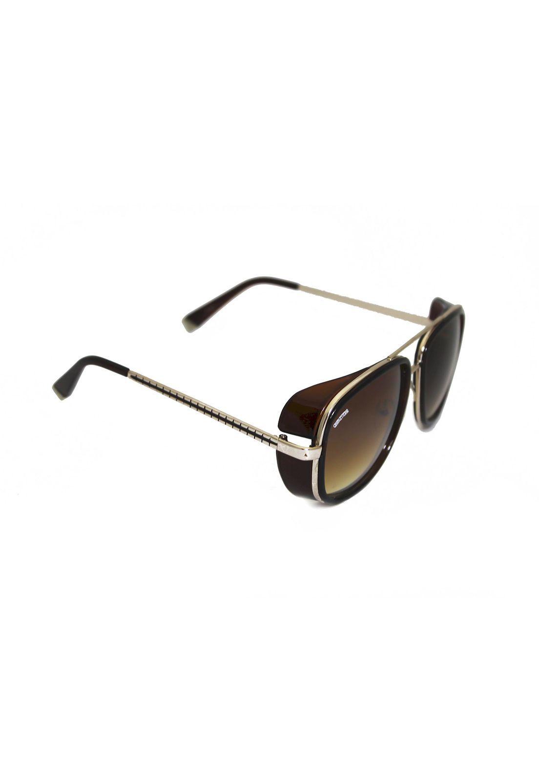 Óculos de Sol Grungetteria Pablito Marrom