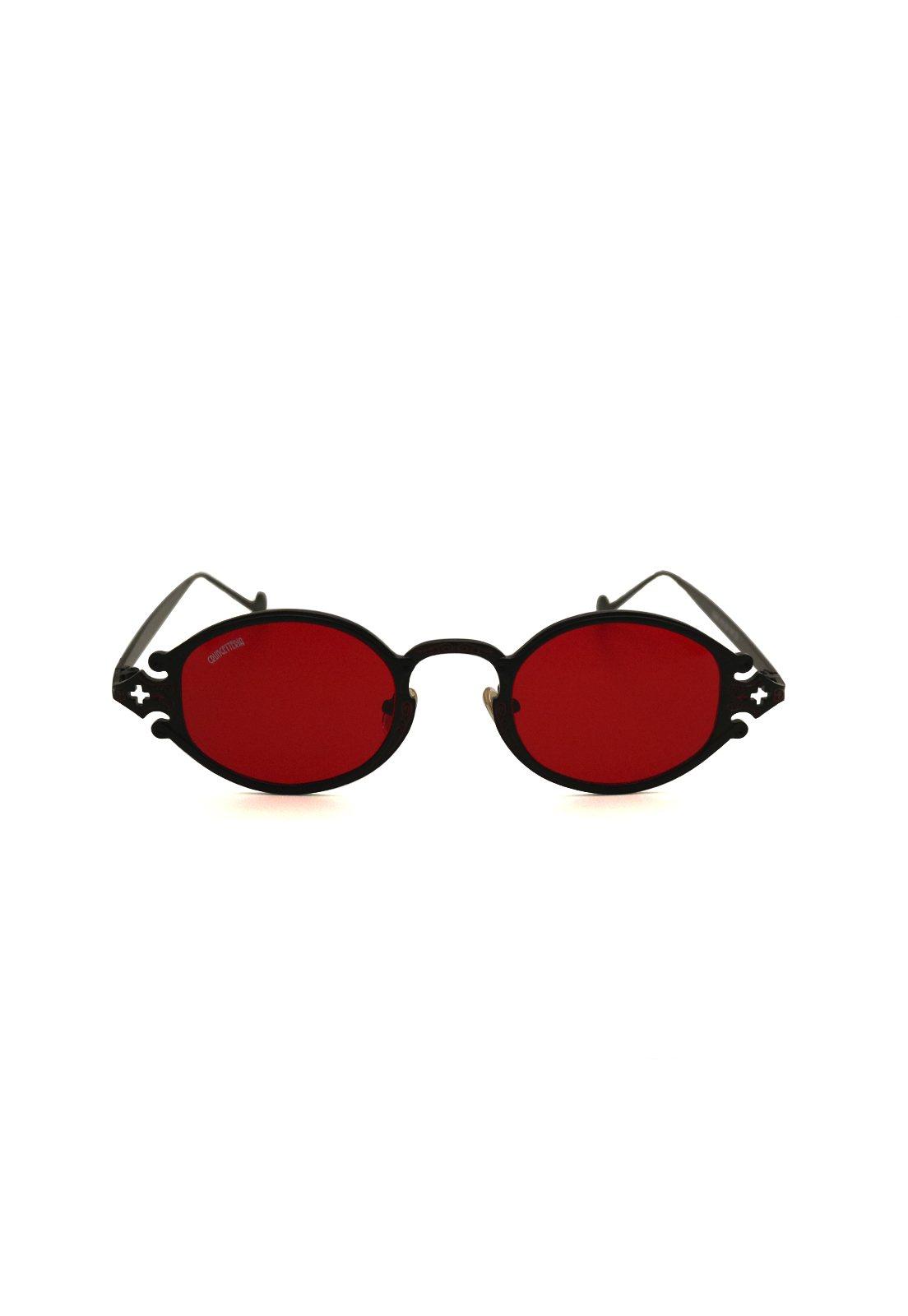 Óculos de Sol Grungetteria Sacro Vermelho