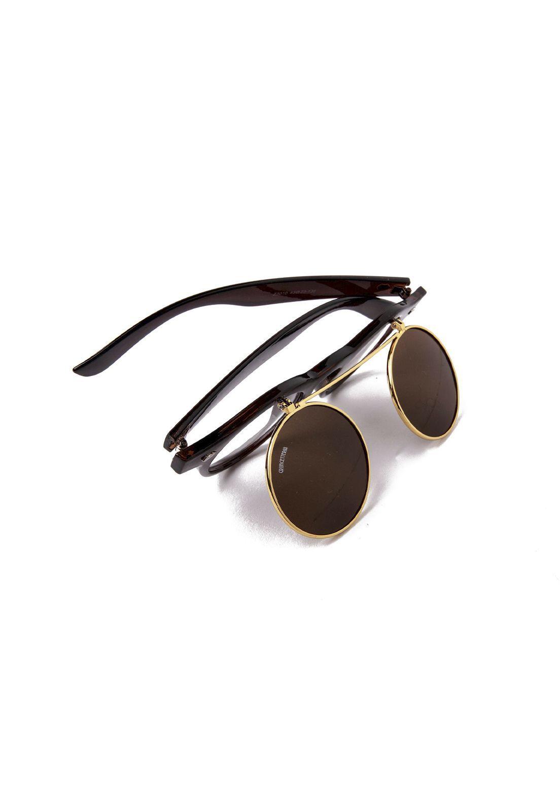 Óculos de Sol Grungetteria Sherlock Fumê