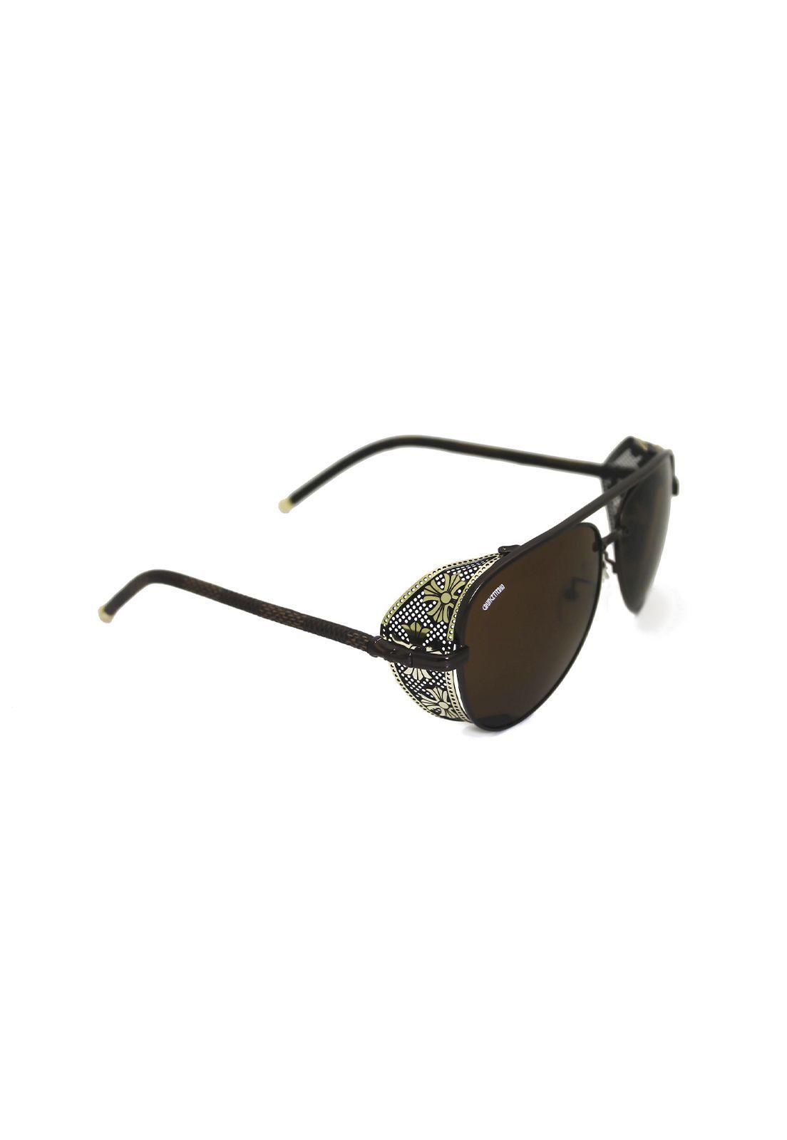 Óculos de Sol Grungetteria Stark Marrom