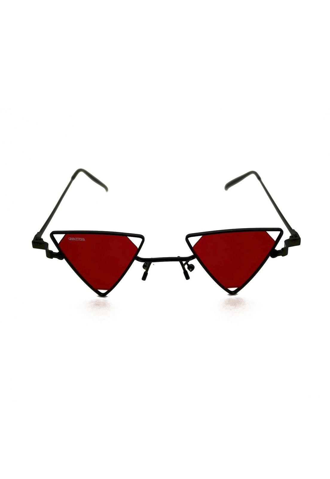 Óculos de Sol Grungetteria Vendetta Vermelho