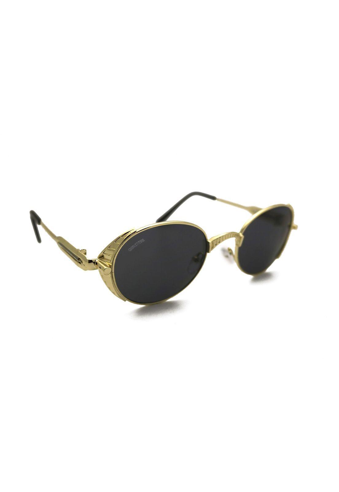 Óculos de Sol Grungetteria Verne Dourado