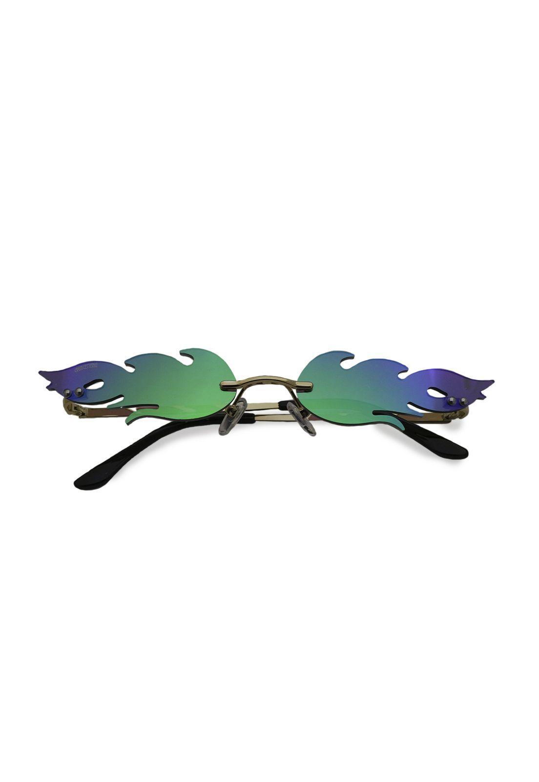 Óculos de Sol Grungetteria Xama Verde
