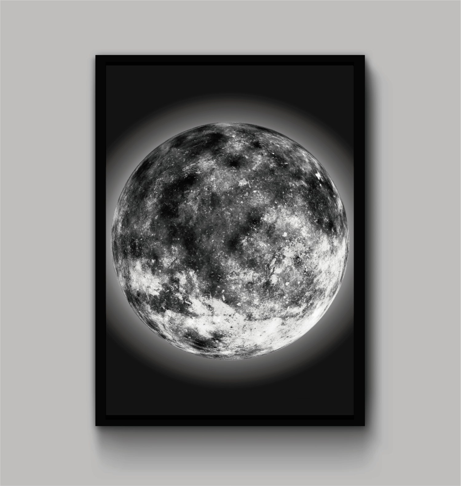 "Quadro "" THE MOON"""