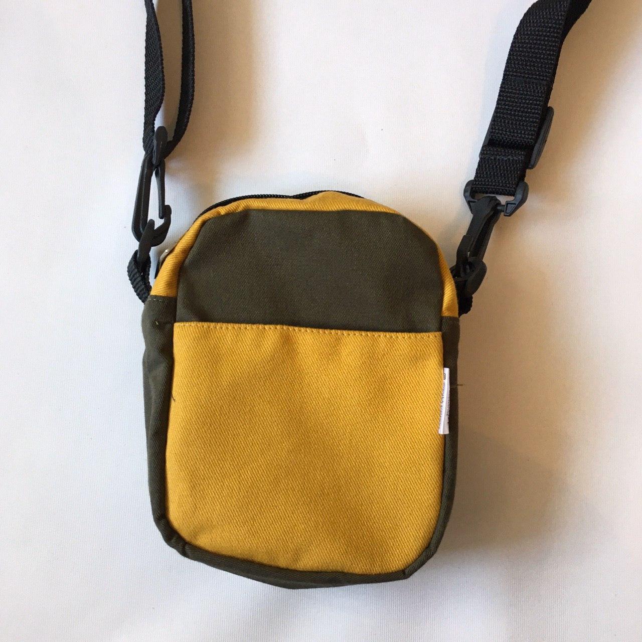 Sholder bag Vintage -Verde/Mostarda