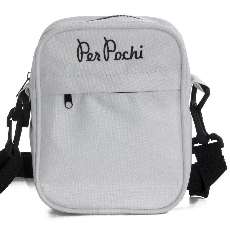 SHOULDER BAG white