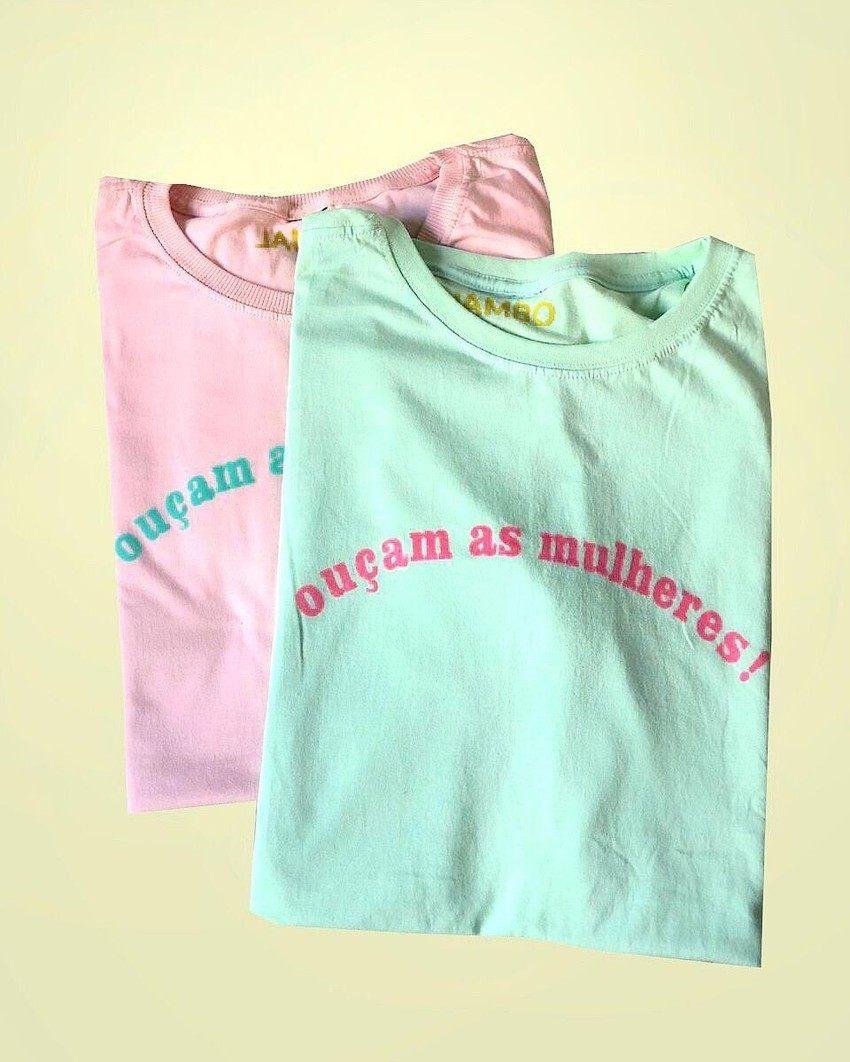 T-shirt  OUÇAM AS MULHERES