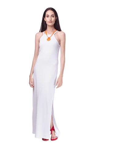 Vestido Longo Malha Branco - Youth