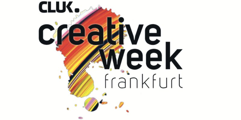 1. Crea­tive Week Frank­furt — Design Future Now