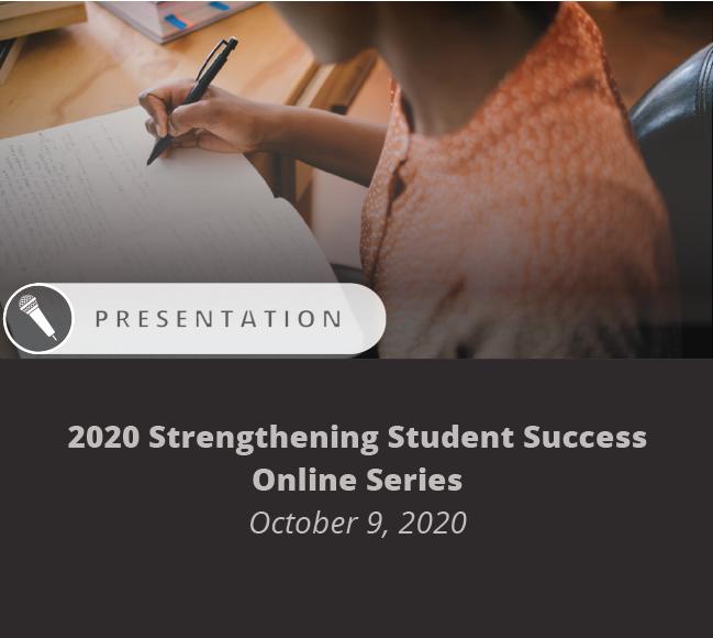 Carnegie Math Pathways Presentation at 2020 Strengthening Student Success Online Series October 9, 2020