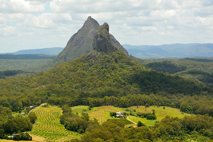 glass house mountains, queensland