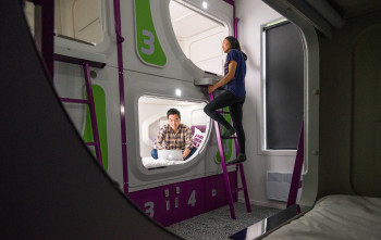 5 reasons to stay in a JUCY pod