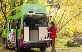 Campervan hire tips - choosing a campervan