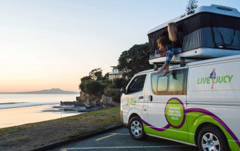 How much does it cost to travel New Zealand in a camper