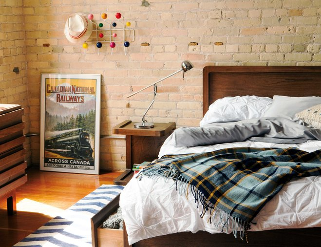 A Decor Filled with National Pride: Have You Heard of Canadiana? on plaid green, plaid bedrooms for boys, plaid bedroom wallpaper, plaid rugs, plaid nursery ideas, plaid curtains, plaid bedroom themes, plaid pink, plaid bedroom decoration, plaid fabrics, plaid bedding,