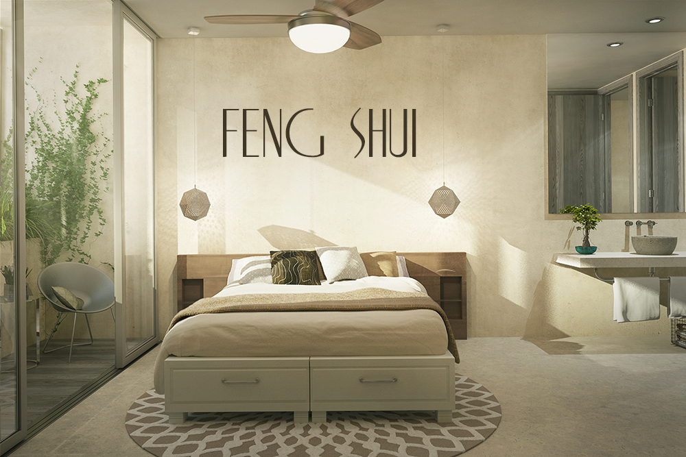 Feng shui for the master bedroom: encouraging closeness