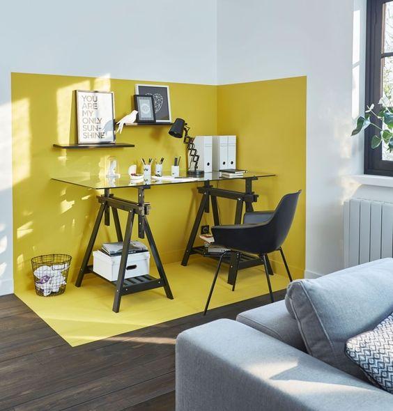 7 id es pour int grer un coin bureau chez soi - Amenager bureauidees deco travailler sereinement de chez soi ...