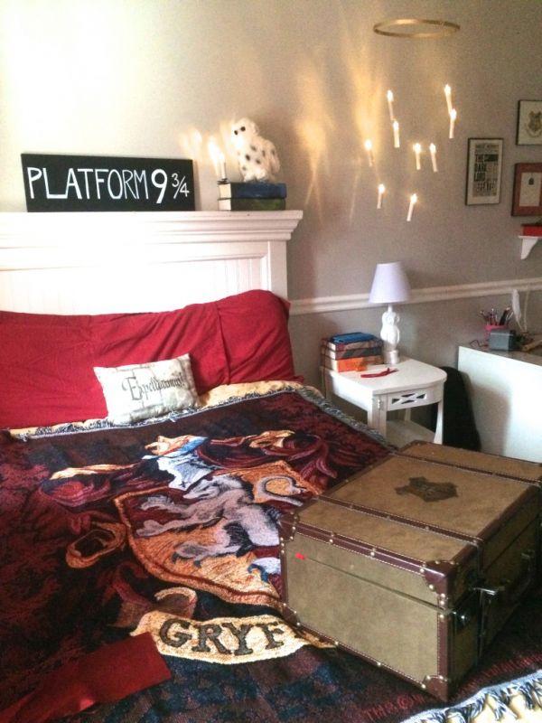 chambre unisexe - thème chambre Harry Potter