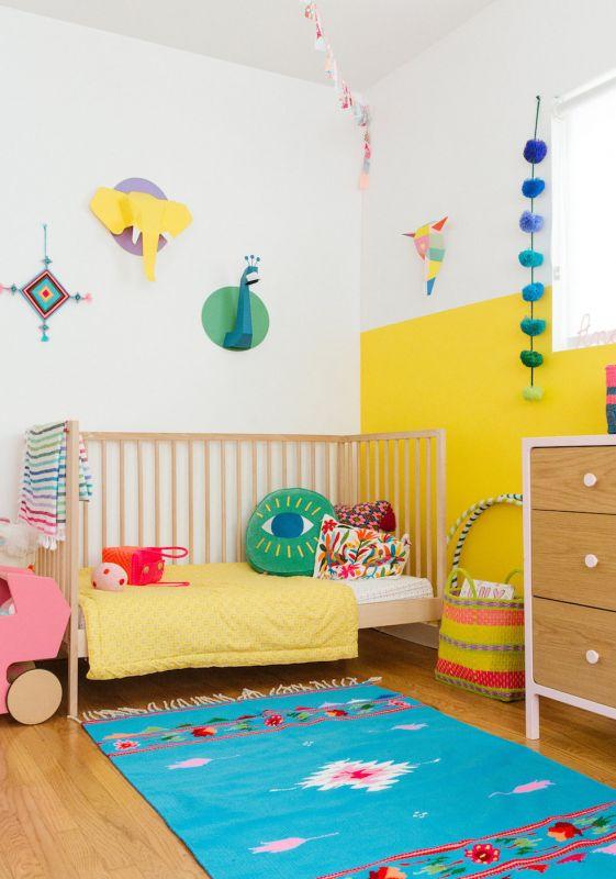 chambre unisexe - chambre d'enfants - couleurs mixtes