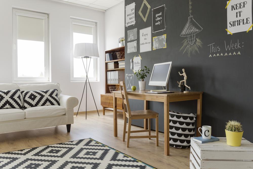 Déco : le mur d'ardoise, une tendance qui a du style!