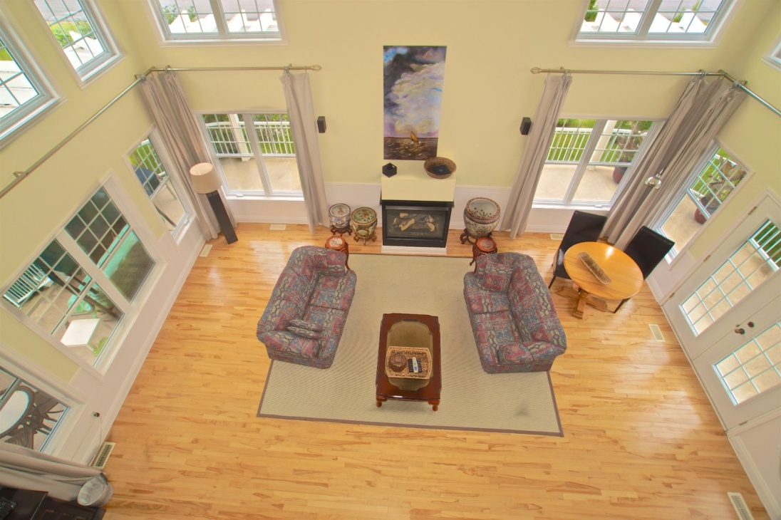 Wait Until You See The Living Room Ceilingu0027s Height Of This House For Sale  In Saint Cyprien De Napierville
