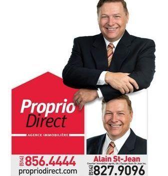 Alain St-Jean, courtier immobilier agréé DA