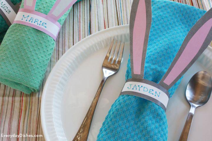 Quelques idées de décoration pour Pâques