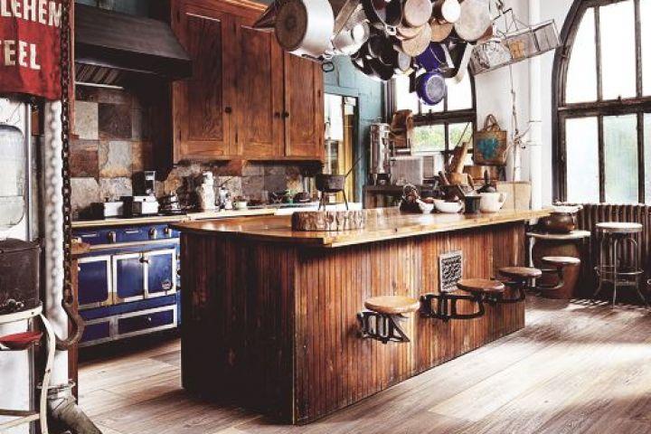Retour en force du comptoir de bois type bloc de boucher!
