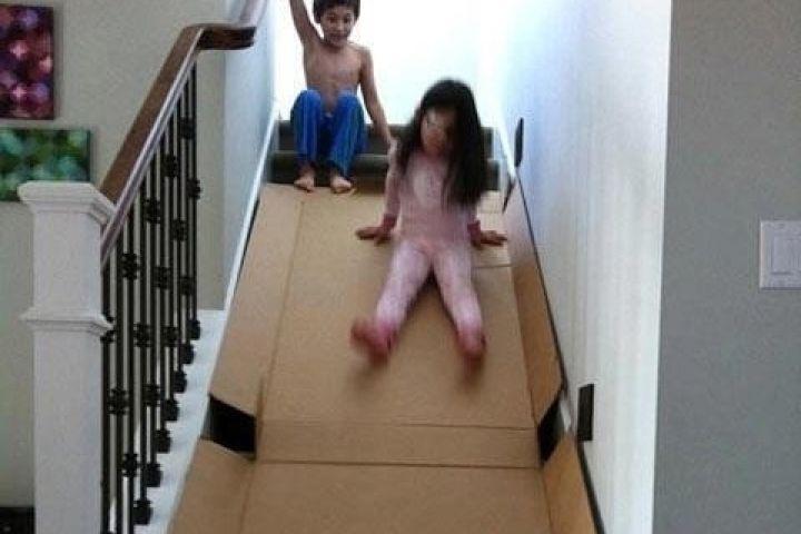 素晴らしいアイデア:遊び場にあなたの家をヒント!