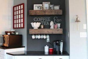 10 idées pour créer un coin thé ou café à la maison