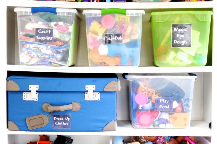 Salle de jeux : même vos enfants aimeront ranger leurs jouets!
