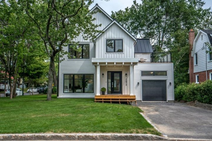 Property in Quebec's Prestigious Sillery Neighborhood: The Irresistible Modern Farmhouse Style at Its Best