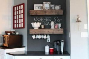 10 Ideas for Creating a Tea and Coffee Nook