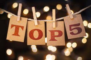 Top 5 Blog Posts in 2017