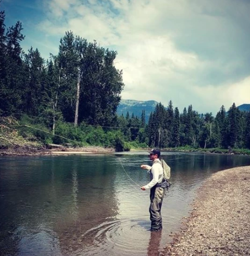 How to land trout on a fly rod