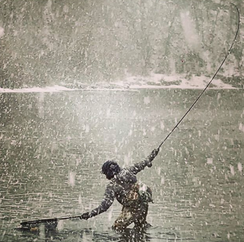 Fly Fishing Deckers during the Winter