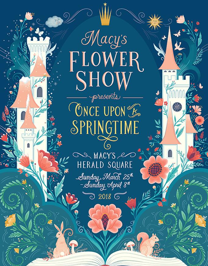 Macys Flower Show 2020.Flower Show Journey To Paradisios Macy S