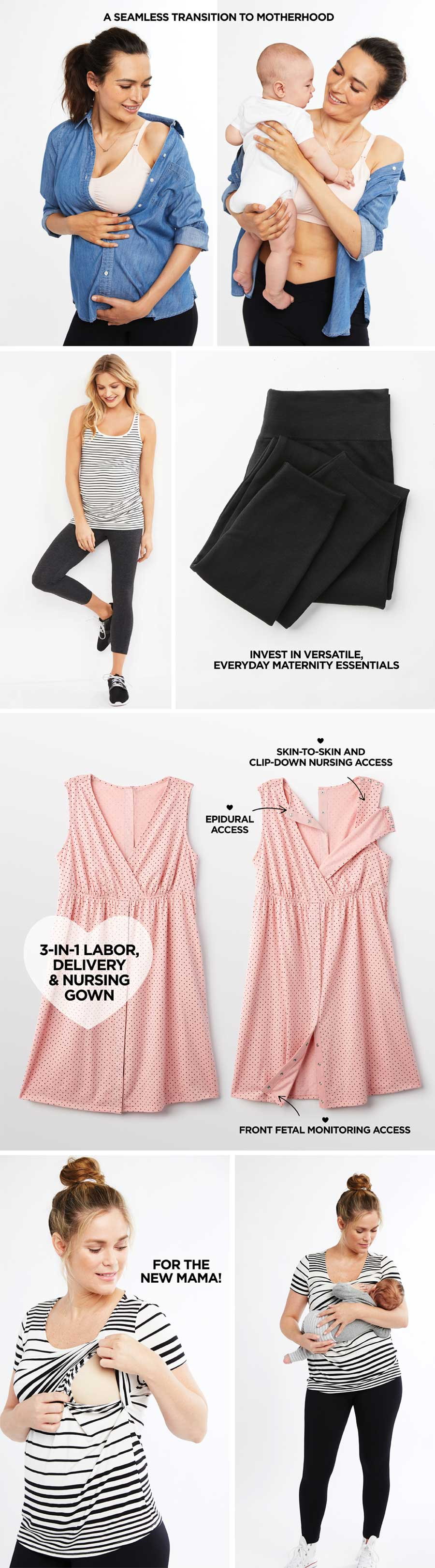 9ae67b5047882 Guide To Maternity Clothing By Trimester - Macy's