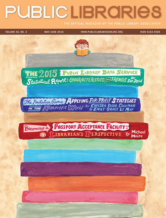 May-June Public Library Magazine Cover