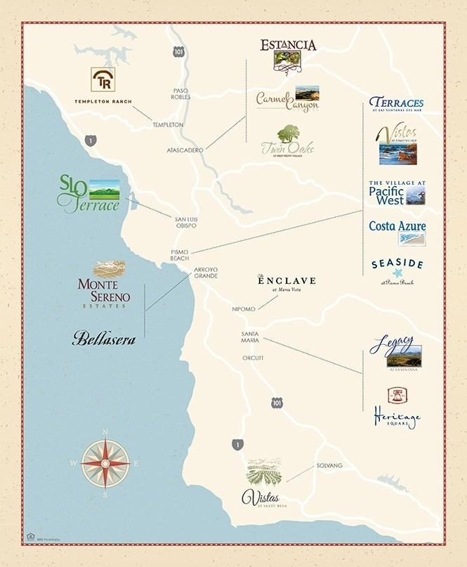 Location Map Coastal Community Builders
