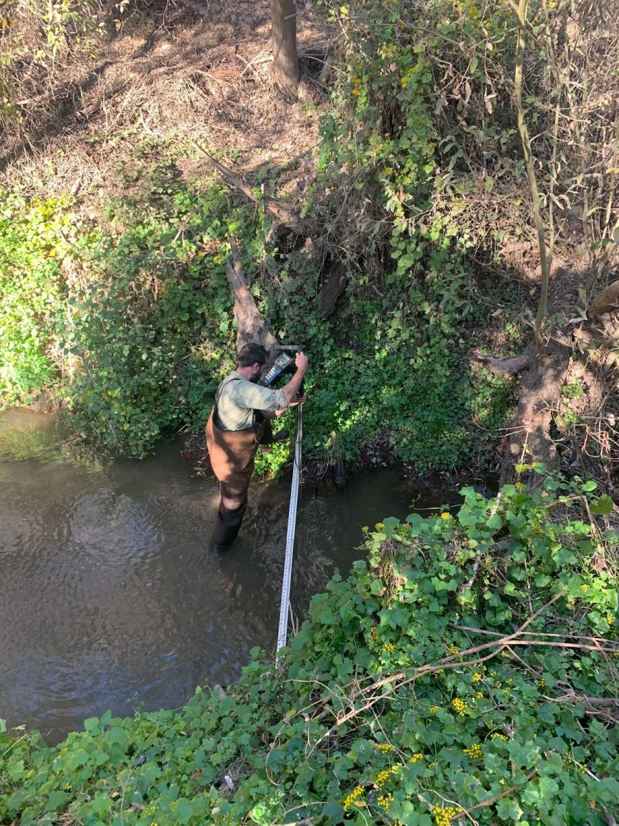 Water Quality and Flow Monitoring on Oso Flaco and Orcutt Creeks