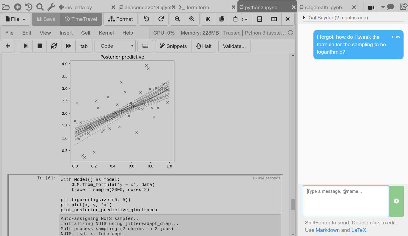 CoCalc - Run Python Online