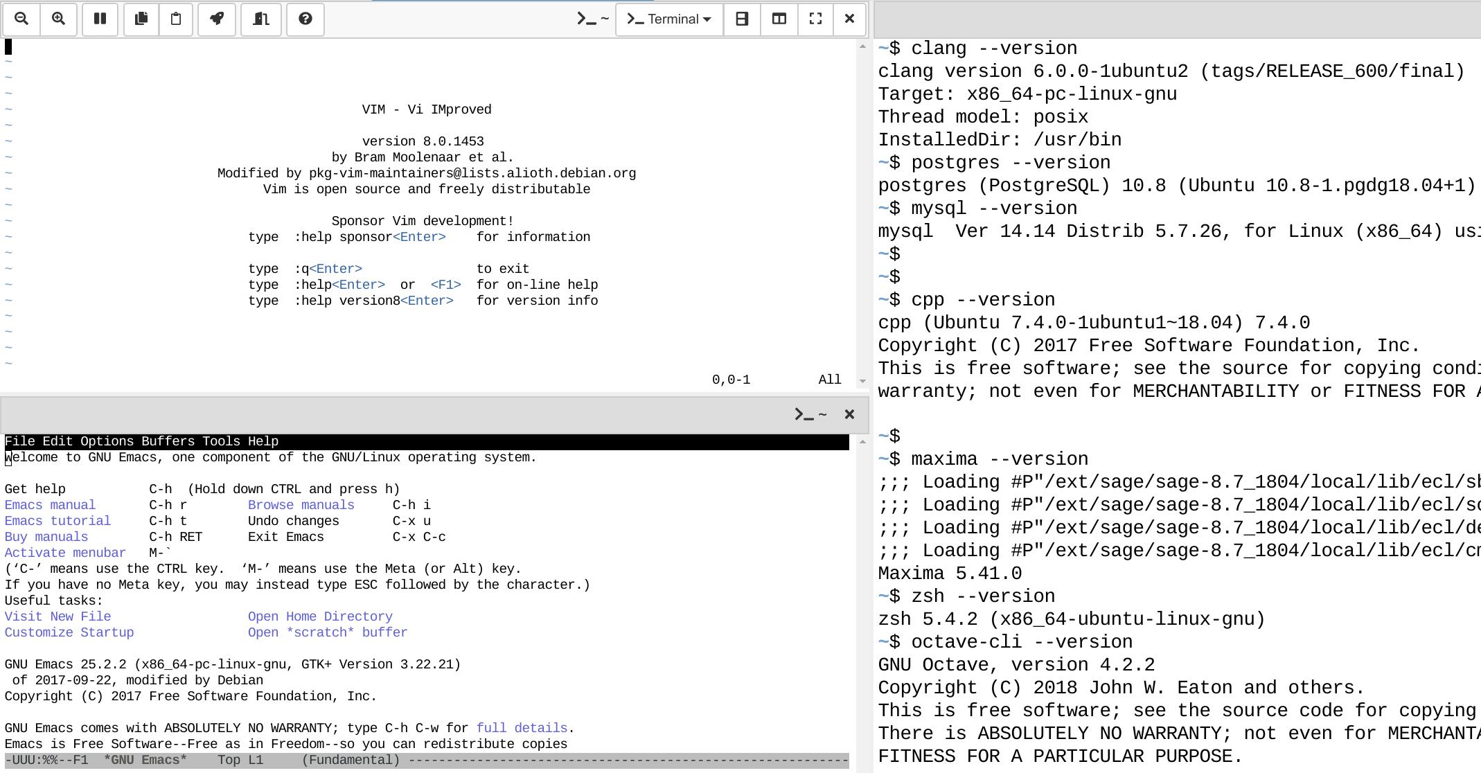 CoCalc - Online Linux Environment