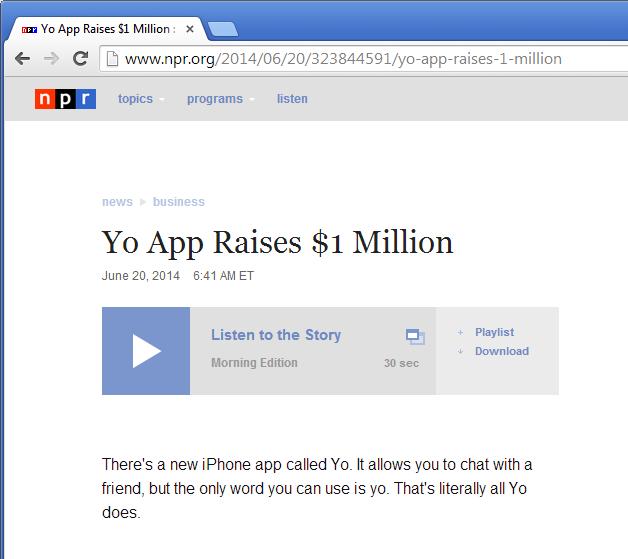 yoapp1mil screen shot
