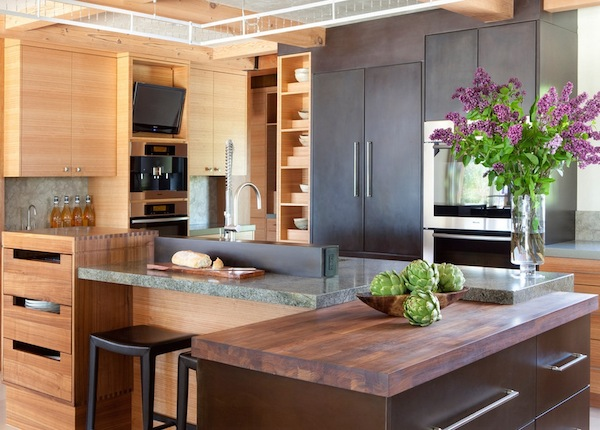 kitchen organization modern