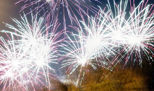 xmas fireworks