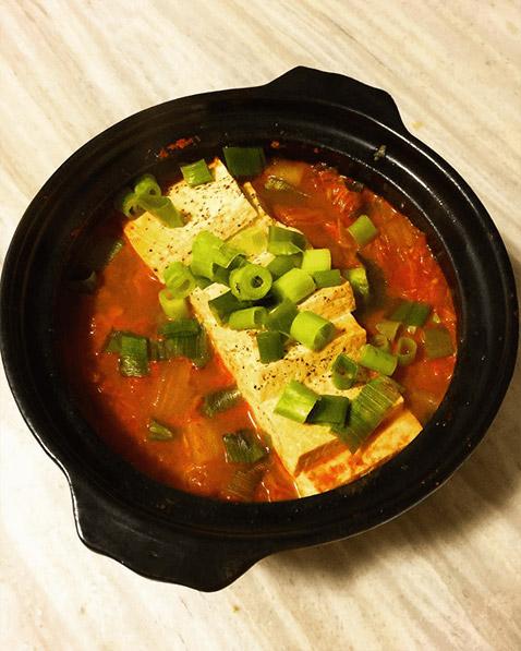 Kimchi Jjigae Step #9